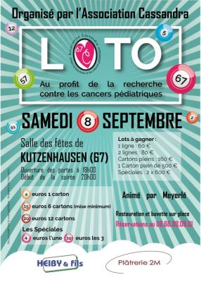 Affiche Loto Solidaire